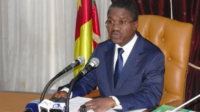 CPDM propaganda continues in Yaounde as Public Health Minister showers praises on President Biya over the Rigobert Song health situation