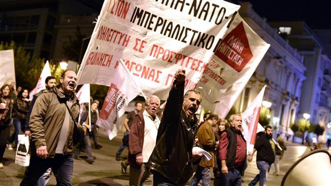 """EU and NATO are war syndicates"""