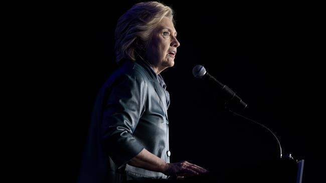 US 2016 Presidential Vote: Hillary Clinton leading Trump by 10 points