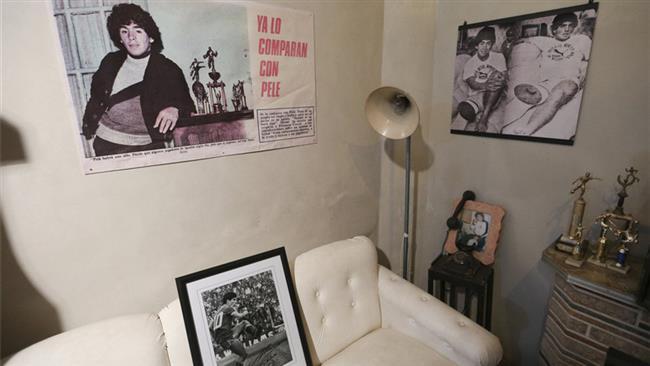 Diego Maradona's house turned into a museum