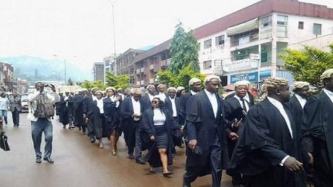 Anglophone Cameroon Lawyers on strike again!!