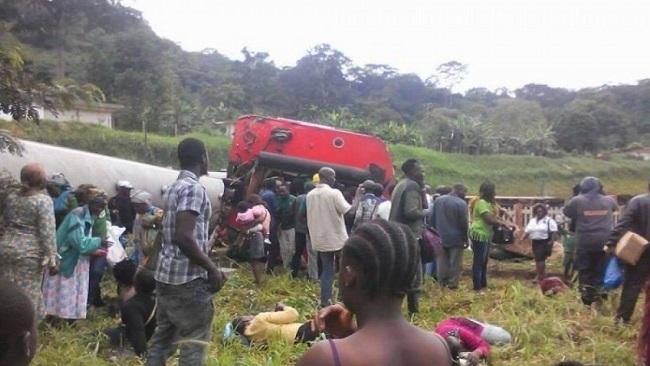 Eseka train accident: Death toll reaches 55