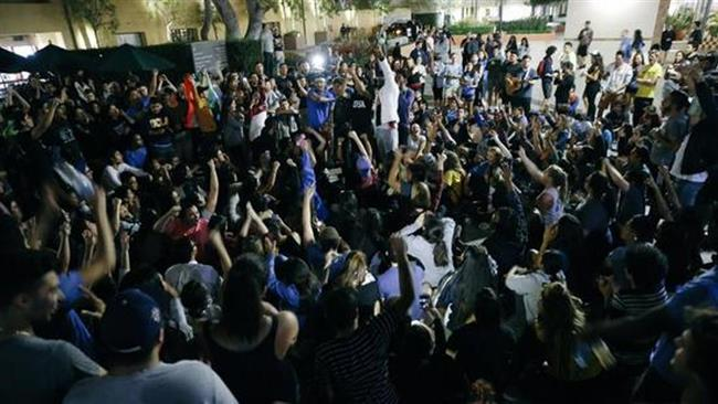 Protests across US following Donald Trump's victory