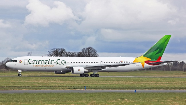 Camair-Co's 737 and MA60 put into service for the Women's AFCON