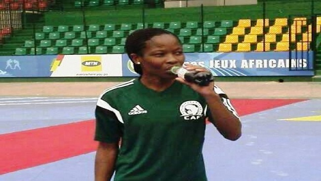 Women's AFCON: The only Cameroonian referee suspended