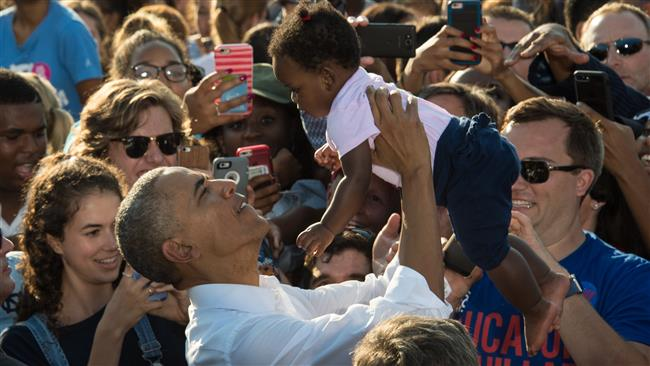 Race for the White House: Obama says If Clinton wins North Carolina, she'll win 2016