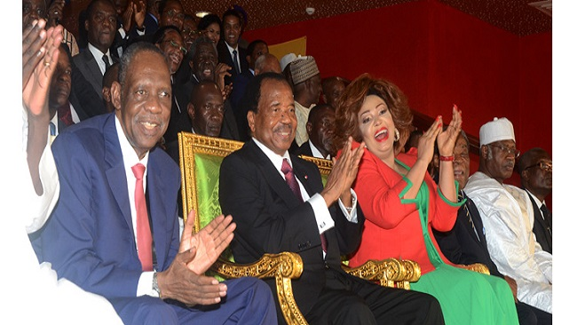 President Biya: Oh lucky man