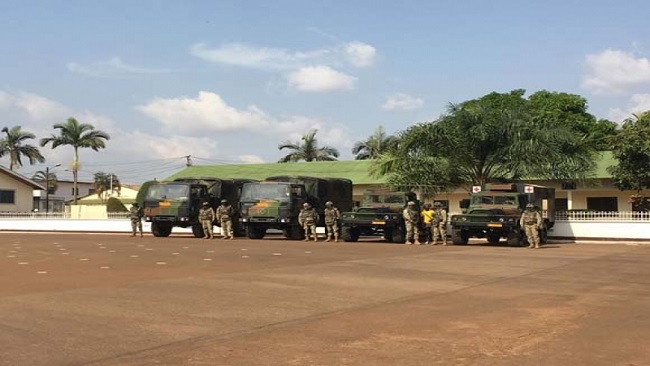France continues to strengthen the French Cameroon military amid tensions with Anglophones