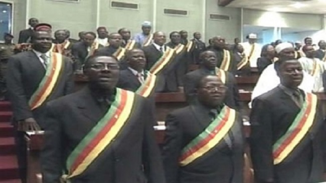 Why are deceased elected officials not replaced in Cameroon?