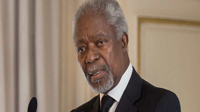Elder Kofi Annan says African exodus from the international criminal court must be stopped
