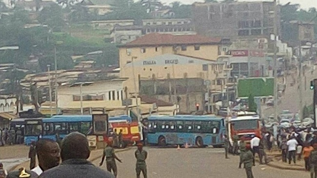 Yaounde: Strike action over unpaid wages paralyzed traffic