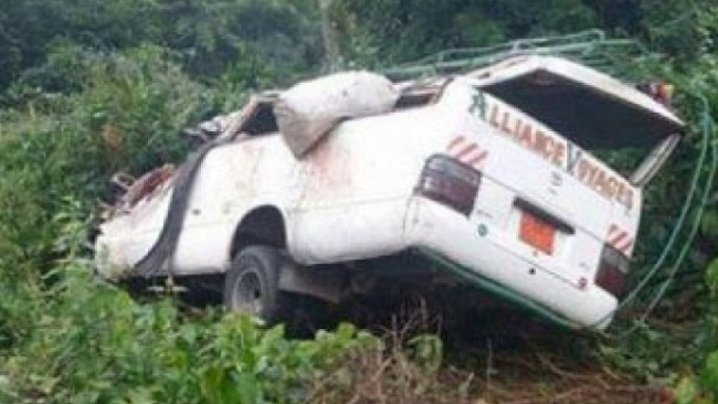 Road accident claim lives of six people during weekend
