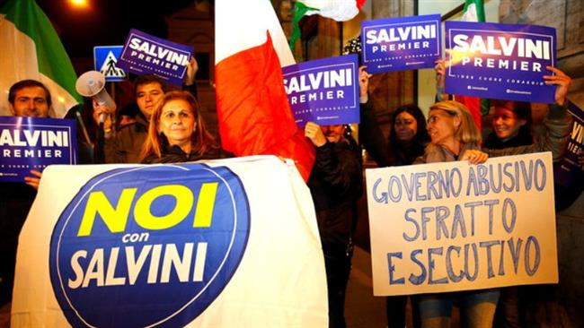 Italy: No vote supporters celebrate, Prime Minister Renzi quits