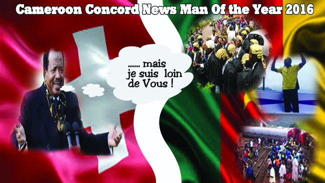 Blood and Intrigues Propel President Biya to Cameroon Concord News Man of the Year 2016