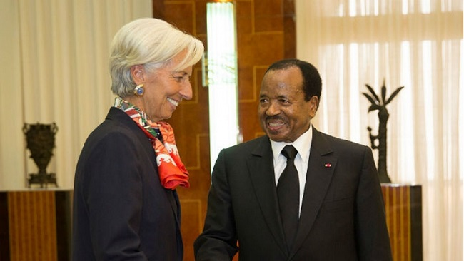 Convicted IMF Managing Director in Yaounde for CEMAC emergency forum