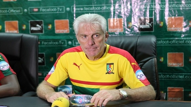 FECAFOOT in crisis as 7 players reject calls from Hugo Broos