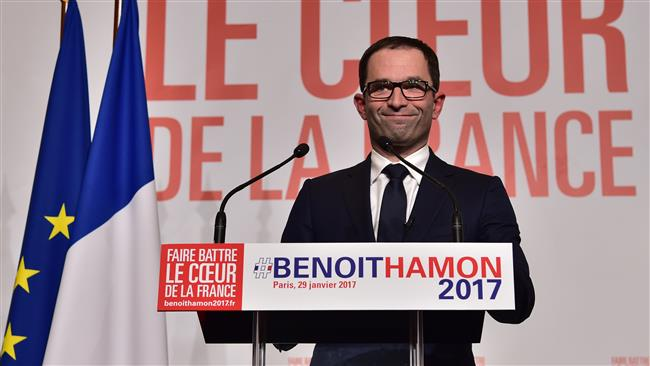 France: Socialists pick Hamon as election candidate