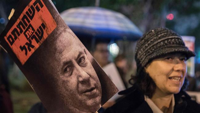 Tel Aviv: Calls for Israeli Prime Minister to resign over allegations of corruption