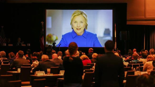 US: Hillary Clinton urges Democrats to 'keep fighting' after losing to Trump