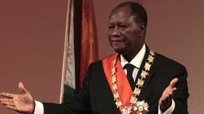 Ivory Coast President Ouattara says he won't seek re-election in October