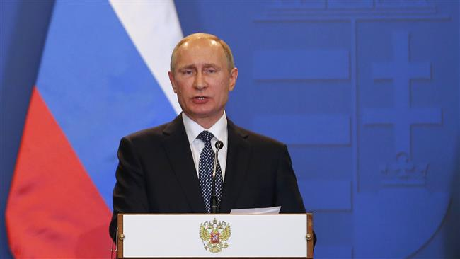 Putin says Ukraine escalating conflict to shore up US cash