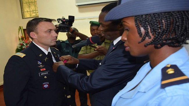 US embassy official accorded CPDM style honour in Yaounde