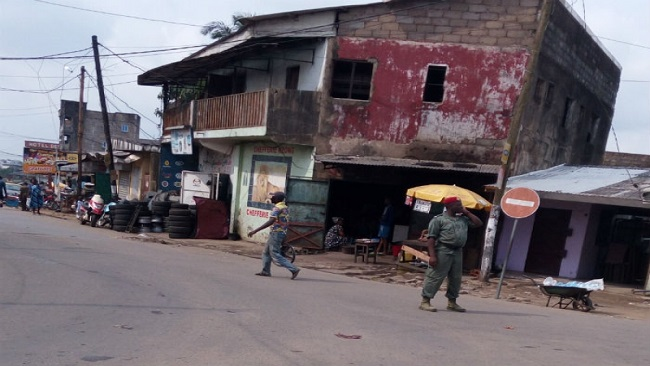 Security agents surround SDF Littoral Chairman's House and Office