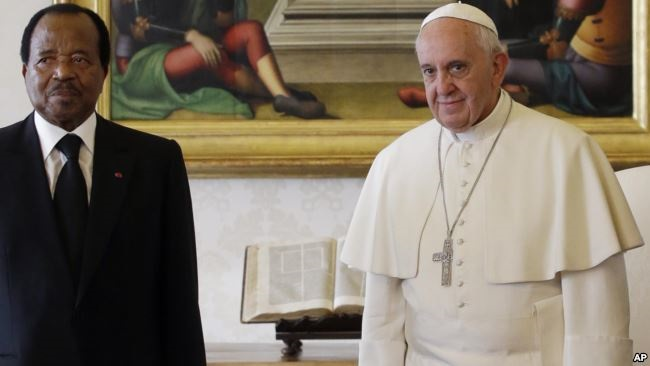 President Biya Vatican Visit: Toying with the Moral compass