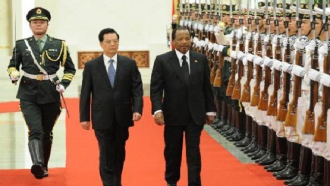 Biya receives Chinese leader's invitation for state visit