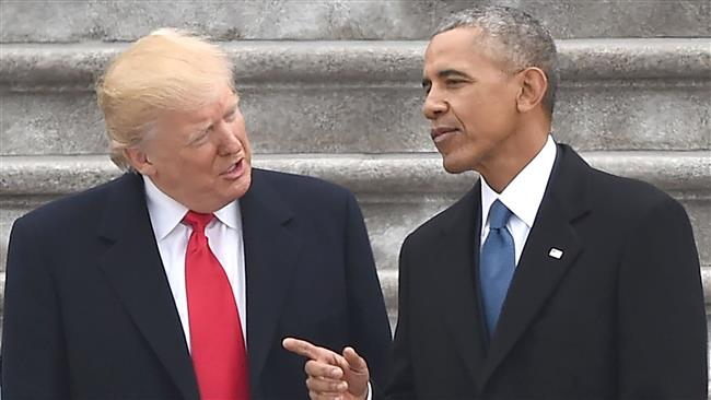 Trump still on the Campaign trail, accuses Obama of 'wiretapping' him