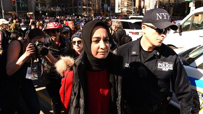 International Women's Day: US women rally against Trump
