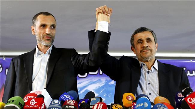 Iran: Ahmadinejad says won't run for president, backs ex-vice president Baqaei