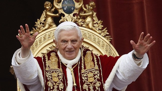 Father Benedict XVI, A Friend of Jesus Christ
