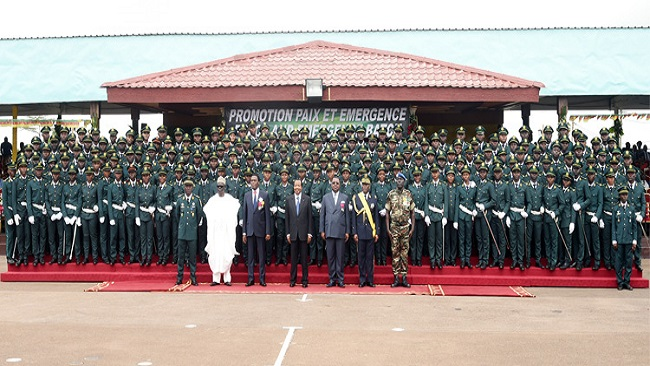 La Republique: Biya acclaims bravery of Cameroon Armed Forces