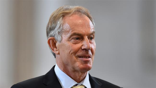 Former British Prime Minister Tony Blair asks Labour voters to switch to other parties in June vote