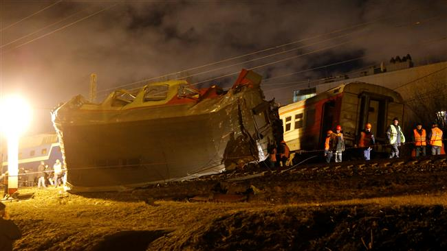 Moscow: Dozens injured as two trains collide