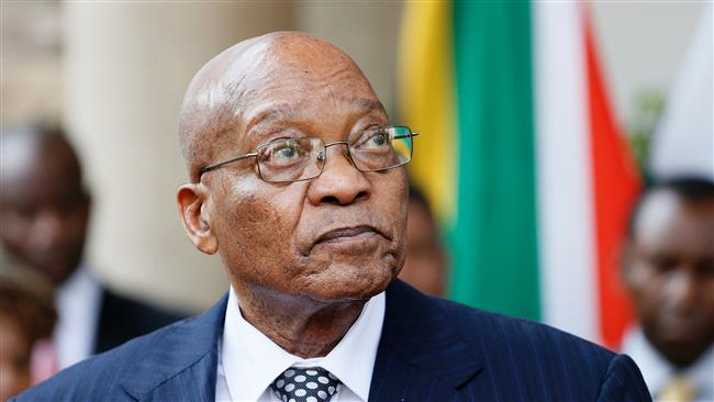 Zuma describes protests in South Africa as 'racist'