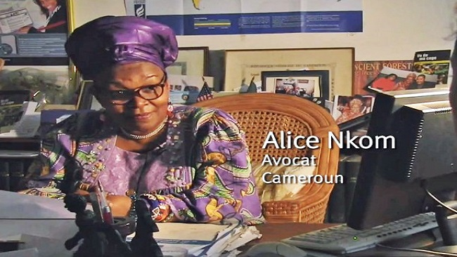 """""""Cutting off internet services is an act of pure secession"""" Barrister Alice Nkom"""