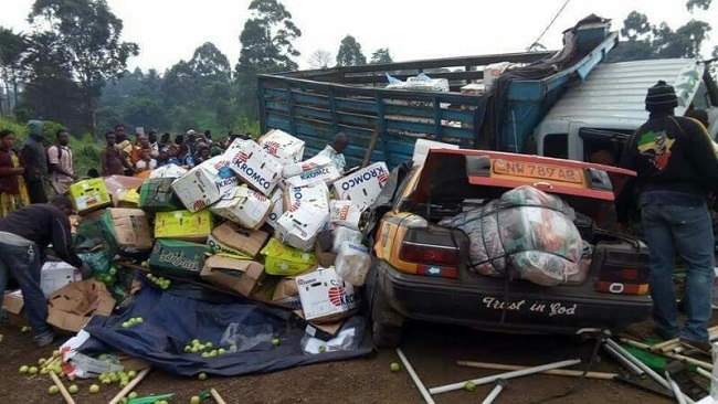 4 killed in Bamenda road collision