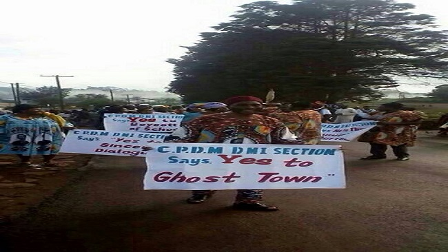 20th May Celebration: Kumbo CPDM militants says yes to ghost town operations