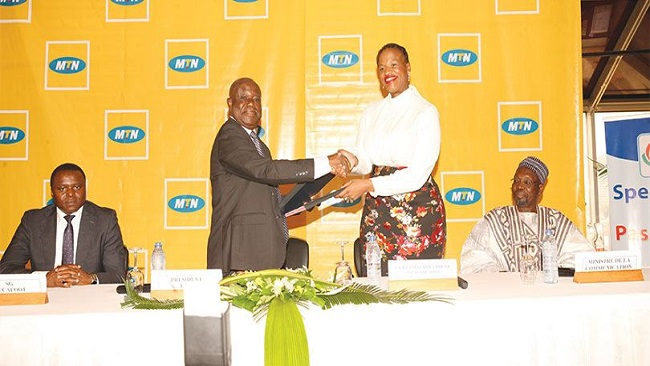 French Cameroun: MTN signs 1 billion FCFA partnership deal with Professional Football League