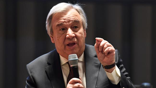 UN chief calls for global cooperation to speed up Covid-19 vaccine