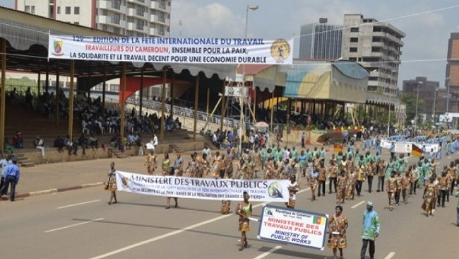 One dead and several wounded during Labour Day parade in Douala