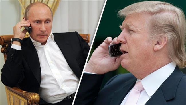 Putin, Trump talk deescalating Korea tensions, diplomatic solution in Syria