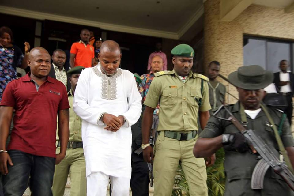 Biafra: Nnamdi Kanu trial pushed to October 21 after he fails to appear in court