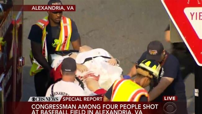 US: 1 congressman shot as gunman opens fire on lawmakers in Virginia