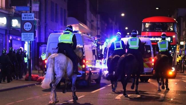 Protests near London over death of black man