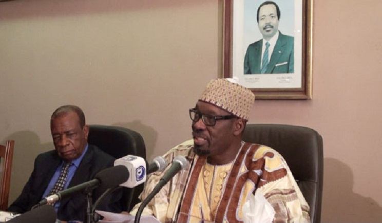 Issa Tchiroma is back in the nation's capital