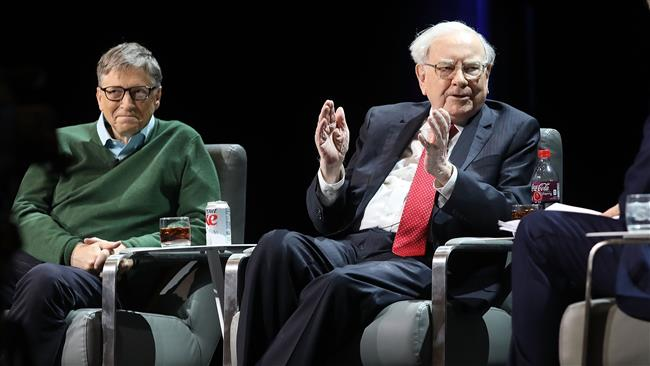 Buffett donates $3.17 billion to Gates charity, four others