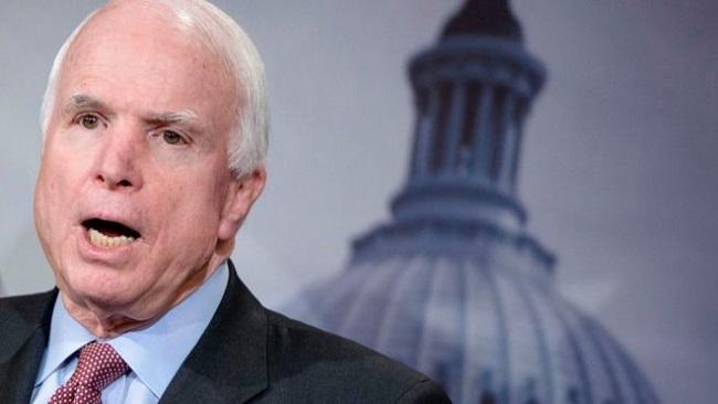 US: Senator John McCain has brain cancer